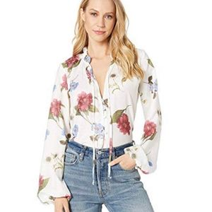SHOW ME YOUR MUMU Alicia Floral Tunic Blouse